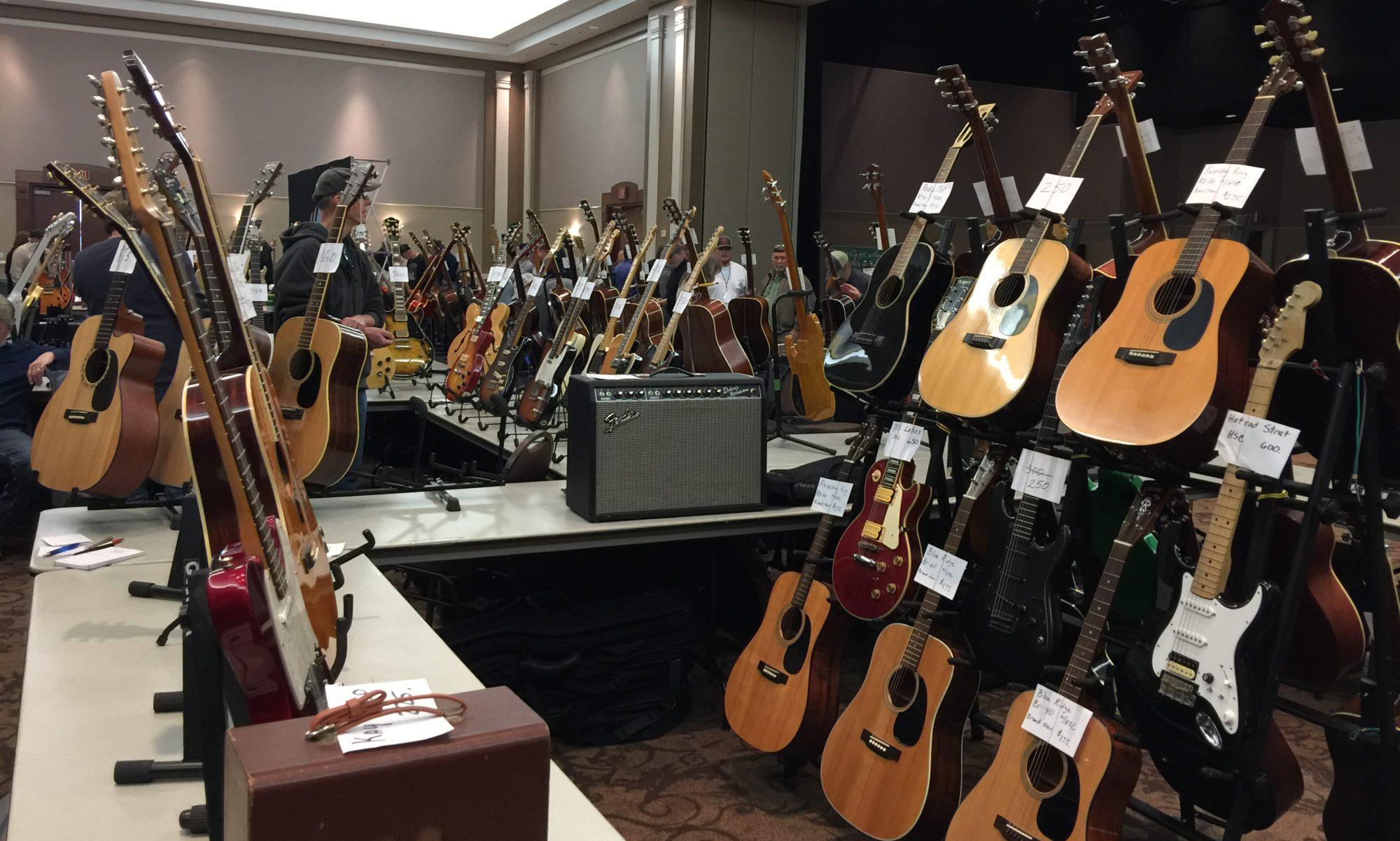 2019 Waxahachie guitar show